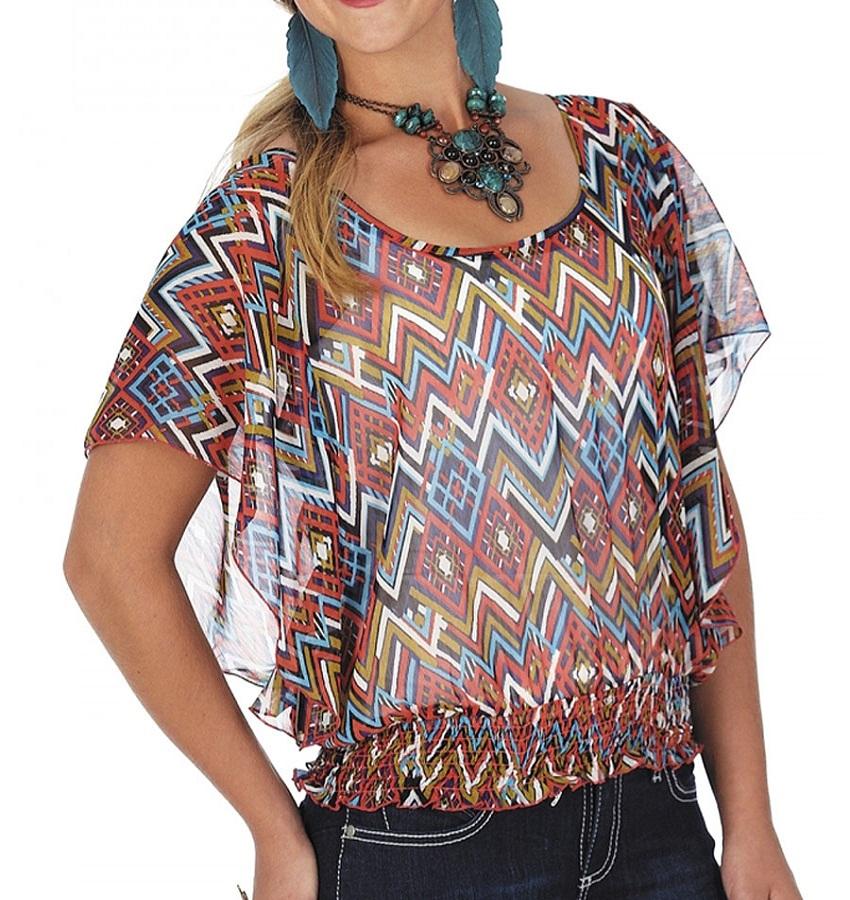 printed blouses