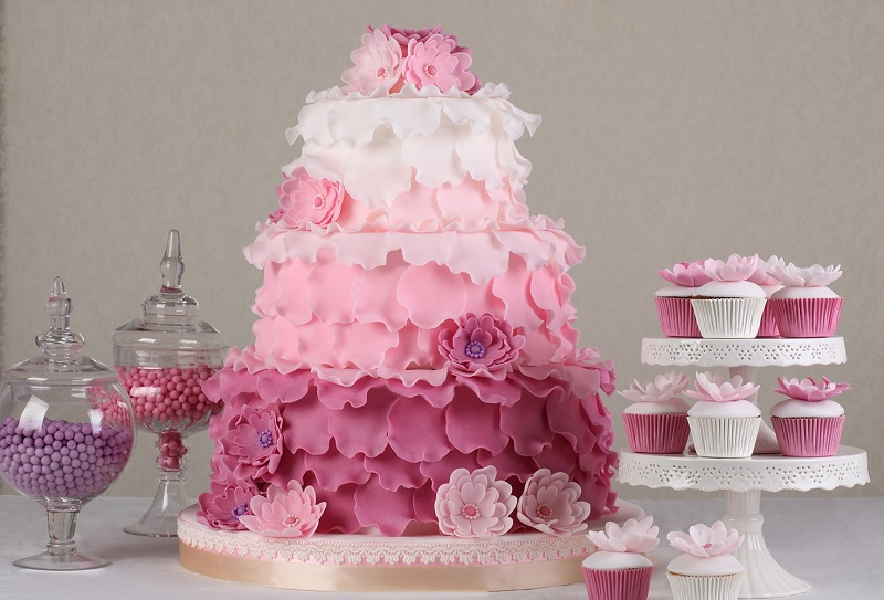 Wedding Cake: 10 Ideas to save on the wedding cake