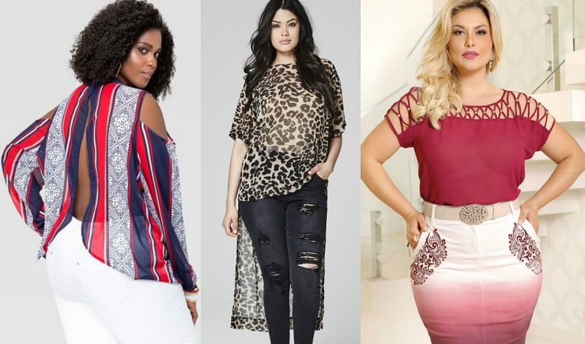 Types of blouses you can use to make your waist look smaller