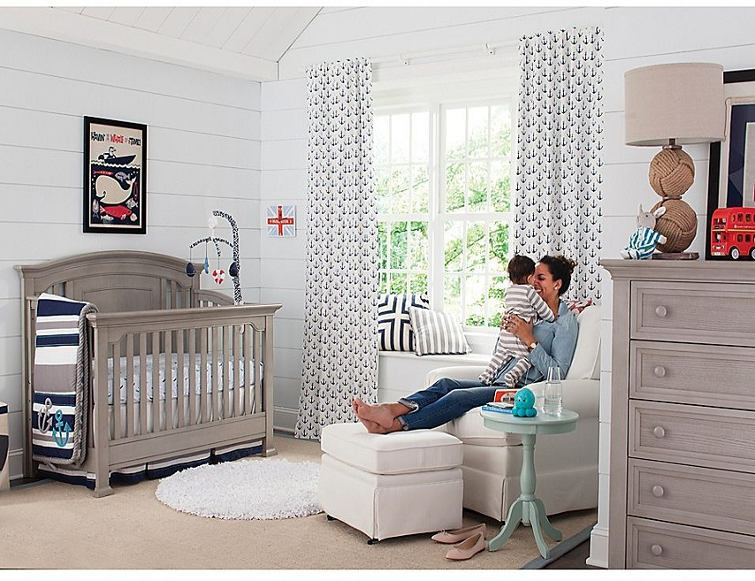 7 ideas for a baby room in neutral tones