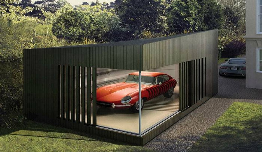 How is the perfect modern garage?