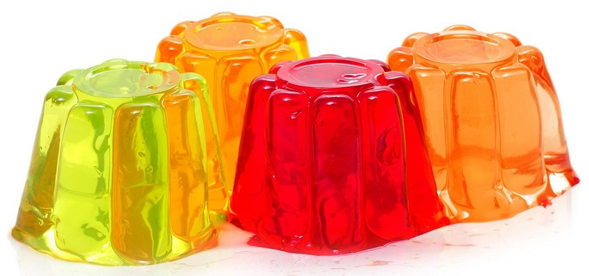 Light gelatin to calm anxiety when dieting