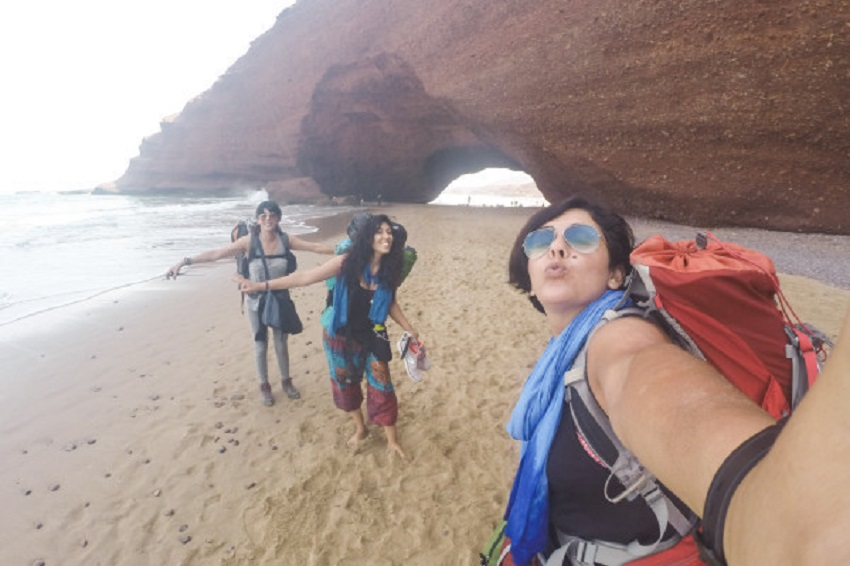 Travel around Morocco by hitchhiking