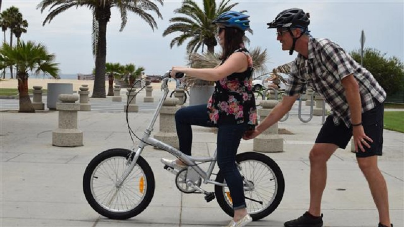 how to ride bicycle