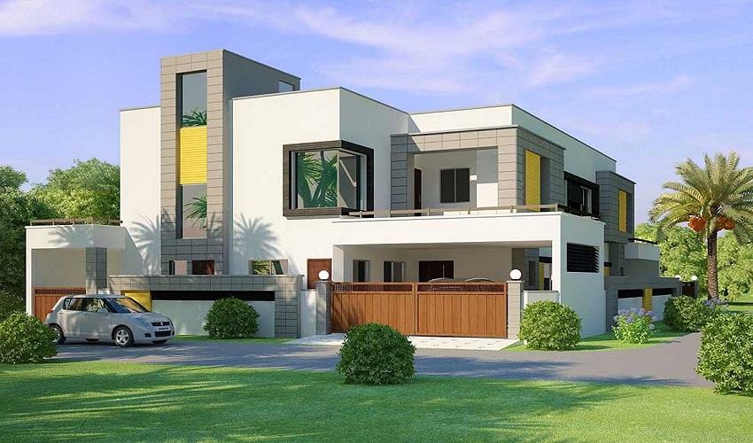 corner design house