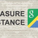 measure distance Google Maps