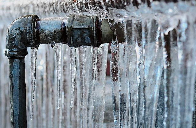 Get your pipes checked before they freeze over this winter