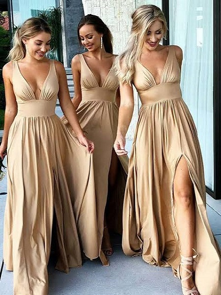 3 Amazing Tips to Follow before Choosing the Gold Bridesmaid Dresses