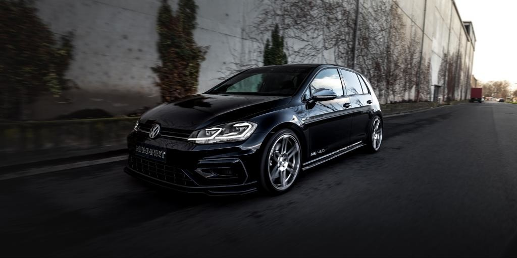 Manhart RS450: The Volkswagen Golf R up to 450 CV and 500 Nm