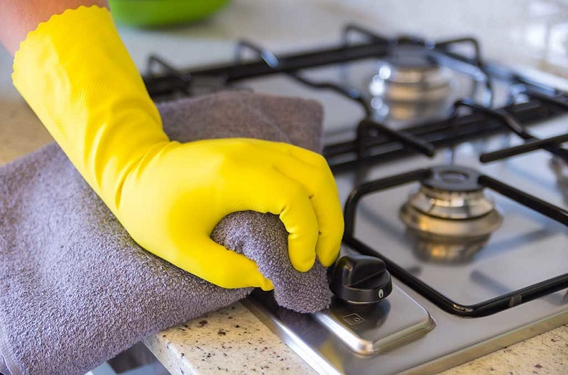 How to do a thorough cleaning in the kitchen
