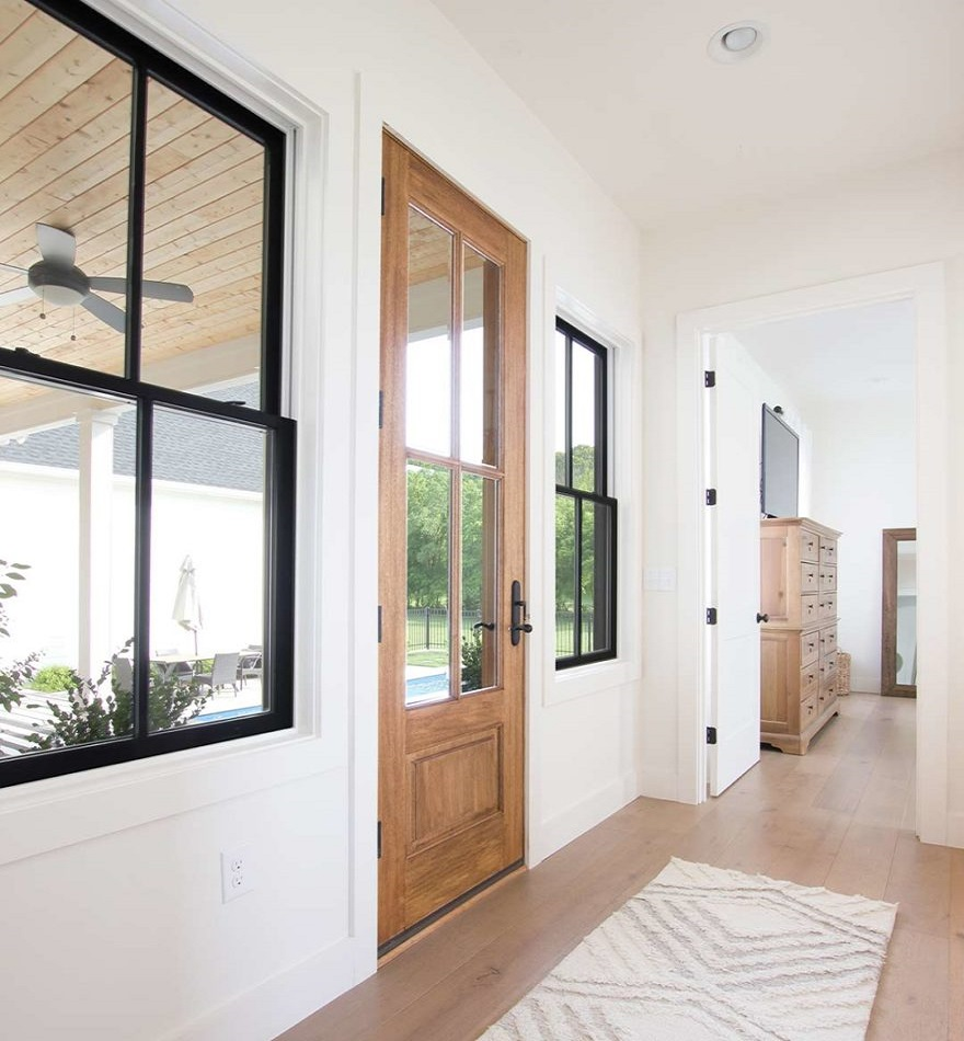 Right Windows for A Modern House