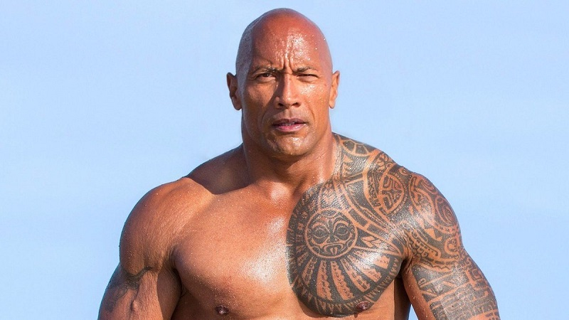 Dwayne Johnson height, weight, and body measurements