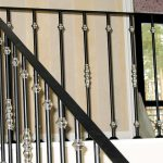 clean metal railings
