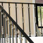 clean metal railings