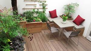 Decorating your outdoor seating area is must.