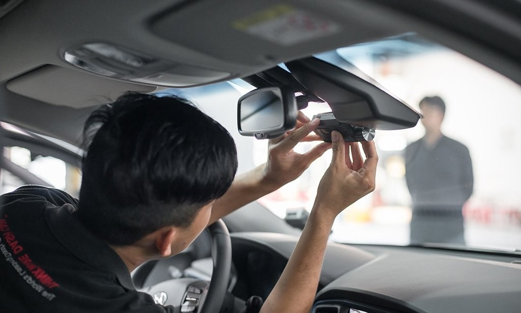 Installing an In-Car Camera