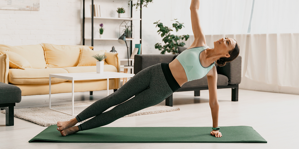 Beginner workout without equipment