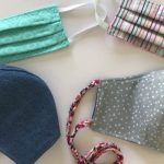 make a face mask with fabric