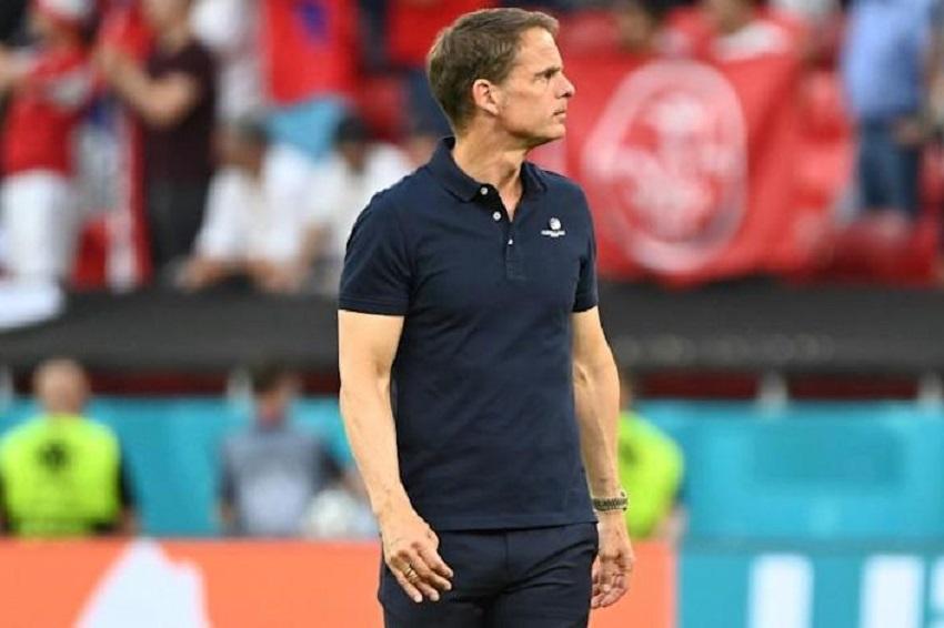 Frank De Boer steps as Netherlands head coach after surprising elimination from Euro 2020