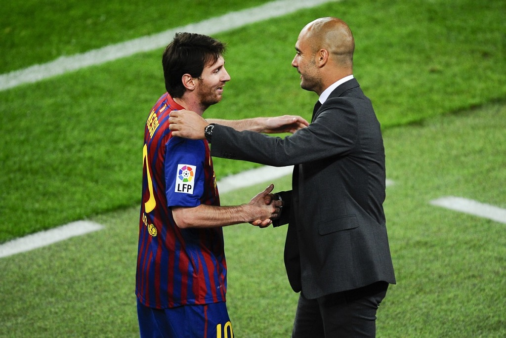 Pep Guardiola responds to rumours about Lionel Messi availability