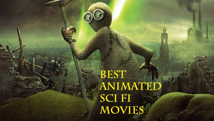 best animated sci fi movies