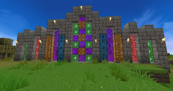 Minecraft stained glass patterns